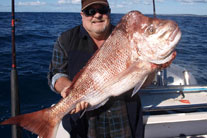 Another happy customer with a solid Snapper